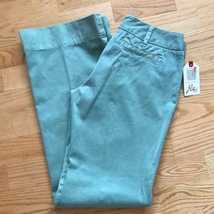 NWT Joie Faith Pants Sz 28 Green